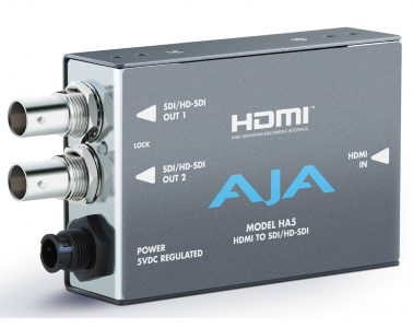 AJA HA5 – HDMI to HD/SDI