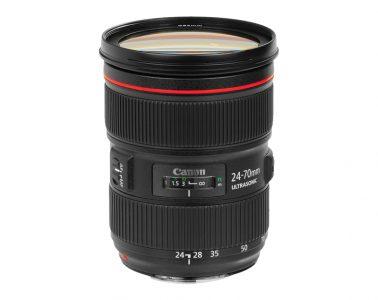Canon EF 24-70 f/2.8L II USM lens