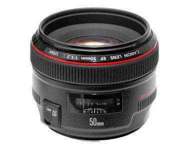 Canon  EF  50mm  f/1.2L II  USM  Lens