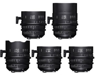 Sigma High Speed/i Full Frame PL Set